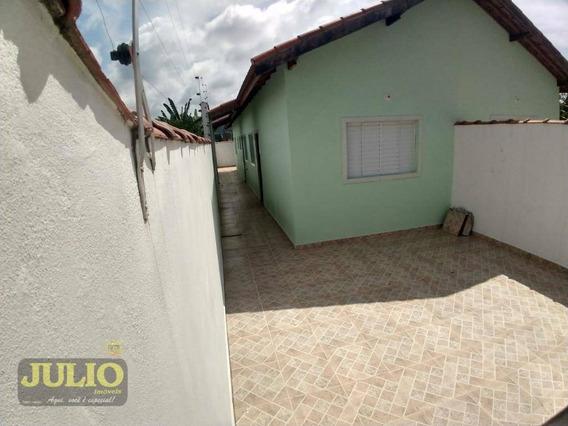Casa Com 2 Dormitórios À Venda, 60 M² Por R$ 160.000,00 - Nova Itanhaém - Itanhaém/sp - Ca3411