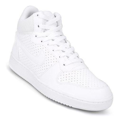 Zapatillas Nike Court Borough Mid - Blanco