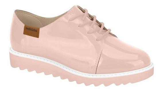 Sapato Feminino Infantil Molekinha Rosa Tratorado 2510111