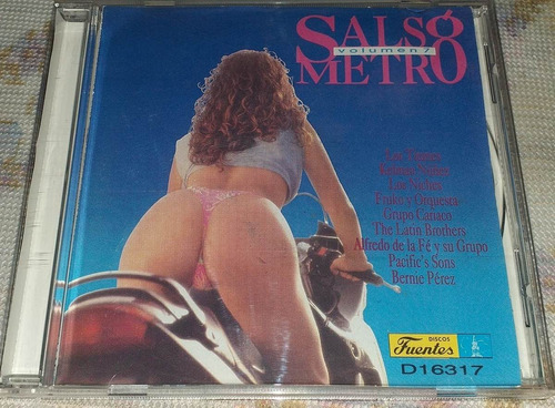 Salsometro Volumen 7 Salsa Cd Niches Bernie Fruko Titanes