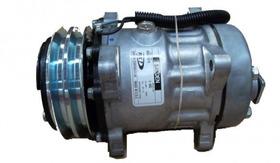 Compressor Sanden 7h15 - Adaptação Vans E Caminhões