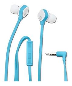 Fone De Ouvido Hp H2310 Intra-auricular Azul/branco