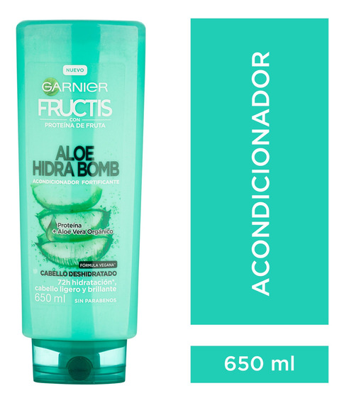 Acondicionador Fructis Aloe Hidra Bomb 650 Ml Garnier