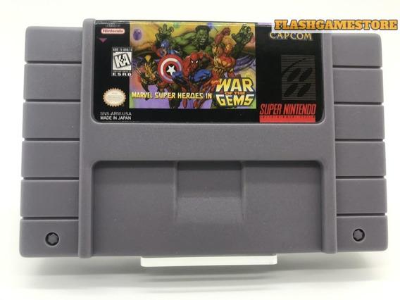 Marvel Super Heroes War Gems - Super Nintendo *paralelo
