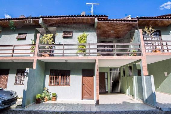Sobrado Condomínio Fechado À Venda/locação, Xaxim, Curitiba. - So0022