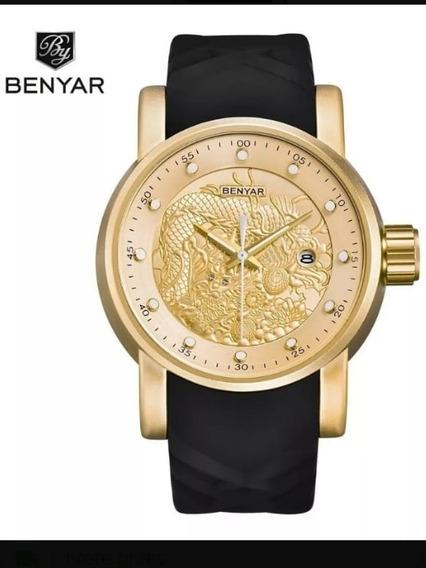 Relógio Benyar Muito Estiloso