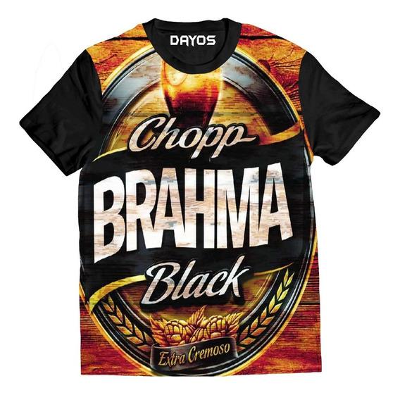 Camisa Camiseta Cerveja Brhama Algodao Personalizada