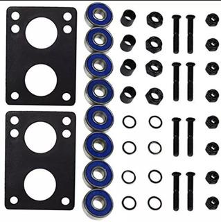 Longboard Kit Hardware Rodamientos Abec-9 + Envio Gratis