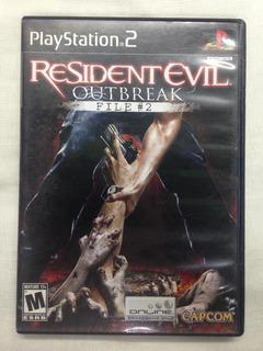 Resident Evil Outbreak File #2 Ps2 C