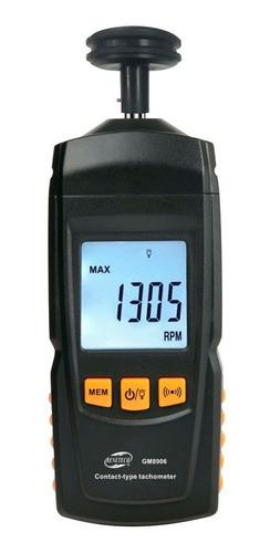Tacómetro Digital Gm8906 Benetech Indicador De Rpm