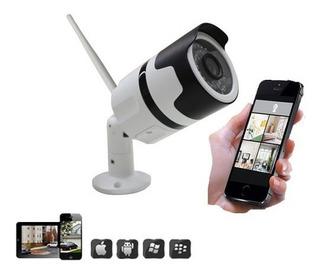 Camara Ip Wifi Inalambrica Exterior Hd Ip 65 Nocturna 1080p