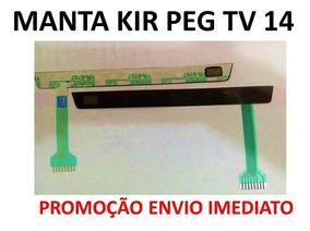 Membrana Funçoes Manta Tv 14 Pol Kirei Envio Imediato