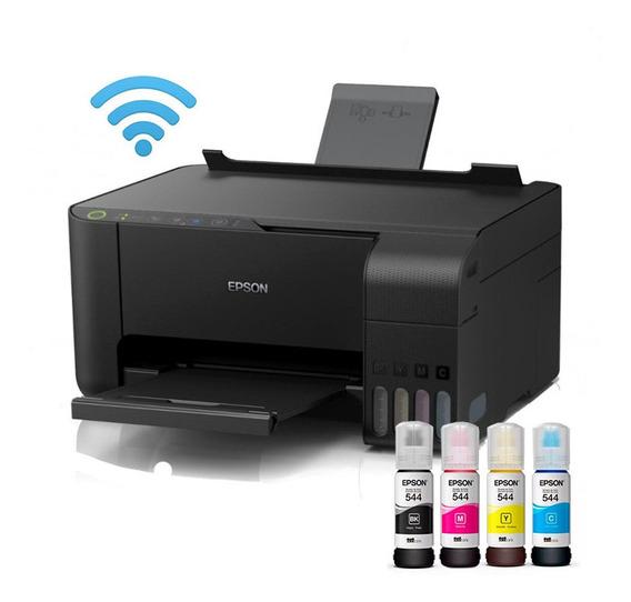 Impressora Sublimática L3150 Epson A4 + Tintas Corantes