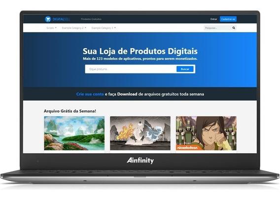 Loja Virtual Para Produto Digital Em Php