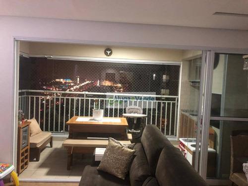 Apartamento Com 3 Dormitórios, 1 Suíte E 2 Vagas De Garagem À Venda No Condomínio Supera, 86 M² Por R$ 650.000 - Vila Augusta - Guarulhos/sp - Ap0229