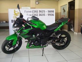 Kawasaki Z 300 Verde 2016