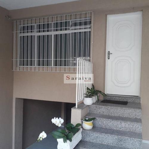 Imagem 1 de 22 de Sobrado À Venda, 230 M² Por R$ 690.000,00 - Jardim Hollywood - São Bernardo Do Campo/sp - So1162