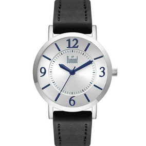 Relógio Dumont Feminino Prata Azul Corino Nfe Du2035lwc/2p