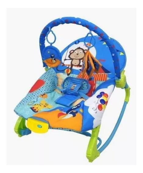 Cadeira Bebê Descanso Balanço Vibratória Musical 18kg Newroc