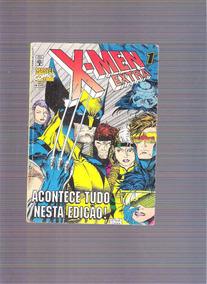 Gibi X-men Extra Acontece Tudo Nesta Edição! Nº 1