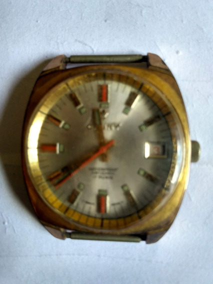 Relógio Suíço Cauny 17 Rubis