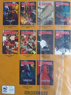 Marvel Deadpool Diez Tomos.