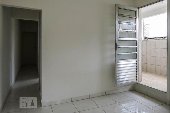 Casa Para Aluguel - Jardim Das Flores, 2 Quartos, 35 - 893000401
