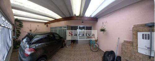 Sobrado Com 3 Dormitórios À Venda, 235 M² Por R$ 575.000 - Vila Jordanópolis - São Bernardo Do Campo/sp - So1147