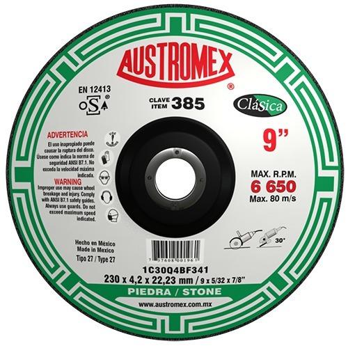 Disco Corte Piedra 9 # 385 Austromex - 0210021028