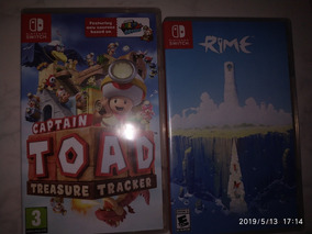 Jogos Switch - Captain Toad E Rime