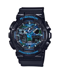 Relógio G-shock Ga-100cb-1a Azul Turquesa 100% Original