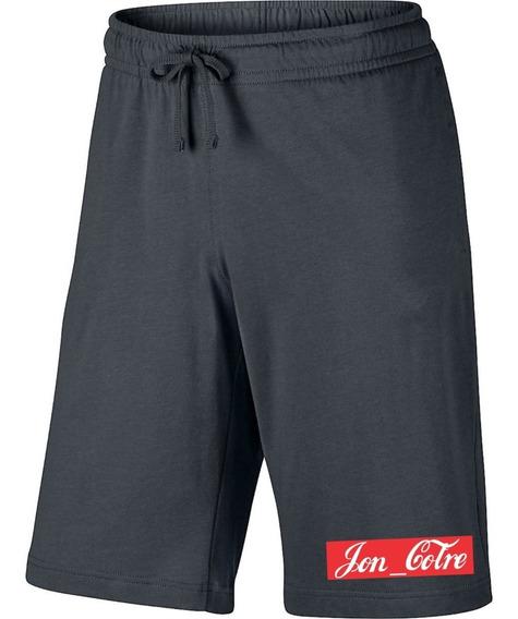Kit Jon Cotre Camiseta + Short Masculino Promoção Blusa