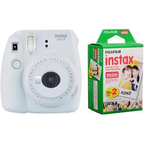 Câmera Instantânea Fuji Instax Mini 9 Branco Gelo + 20filmes