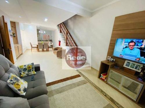 Casa Com 3 Dormitórios À Venda, 120 M² Por R$ 475.000,00 - Jardim Rodolfo - São José Dos Campos/sp - Ca4629