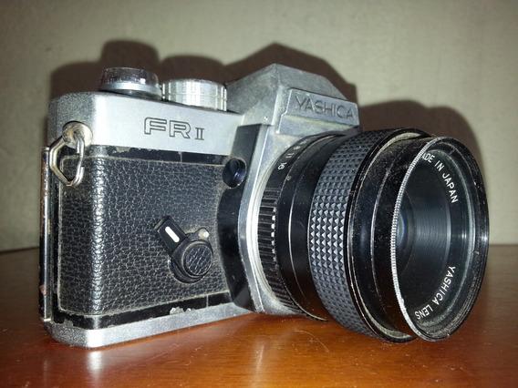 Camera Yashica Fr Ii 35mm Com Lente 50mm