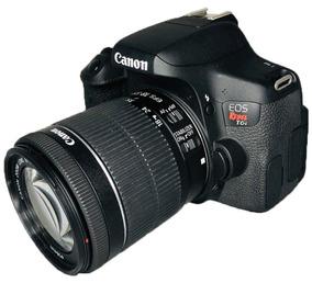 Câmera Canon Rebel T6i C/ 18-55mm Stm Pronta Entrega Usada