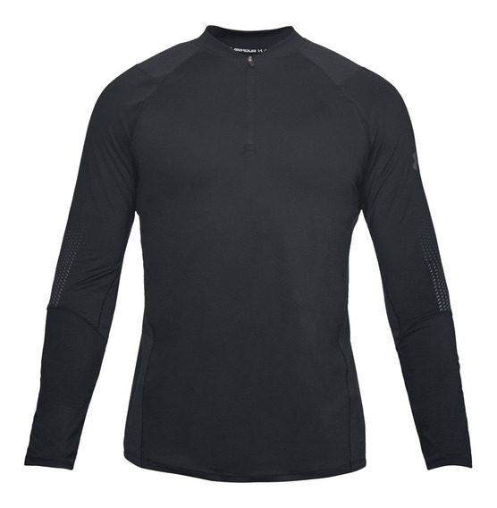 Playera Under Armour Manga Larga Hombre Raid 2.0 1/4 Zip