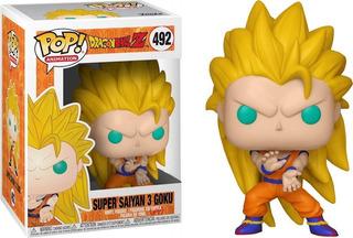 Funko Pop - Dragon Ball Z: Super Saiyan 3 Goku #492 - Nuevo