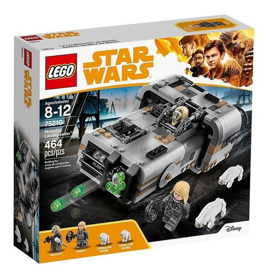 Lego Star Wars Speeder Terrestre De Moloch 75210