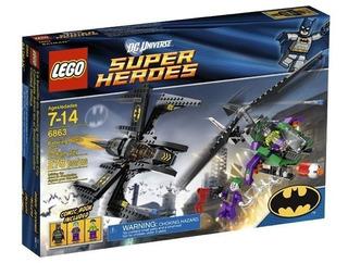 Todobloques Lego 6863 Heroes Cobate Aereo Batiplano Ciudad