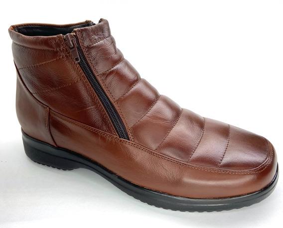 Zapato De Piel De Borrego Para Caballerocomodo Pie Diabetico