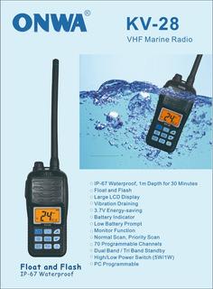 Handie Onwa Manual Vhf Todosailing
