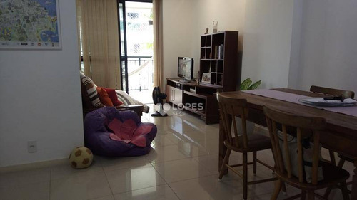 Apartamento Com 3 Dormitórios À Venda, 91 M² Por R$ 800.000,00 - Vital Brasil - Niterói/rj - Ap35671