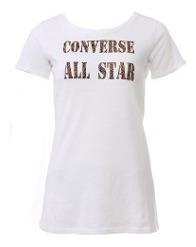 Remera Converse Luka Tee White - D5369302
