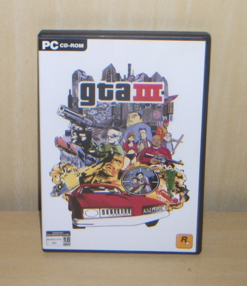 Gta Iii / Grand Theft Auto 3 - Pc