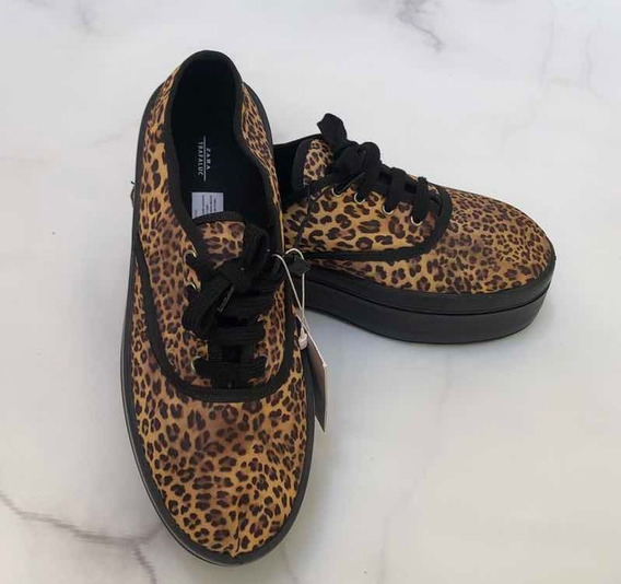 Zapatillas Zara Europa Animal Print Nuevas! Talle 36/37