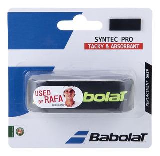 Grip Tenis Babolat Syntec Pro Negro/amarillo
