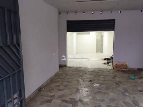 Salão Para Alugar No Vila São José (cidade Dutra) - Sl0124
