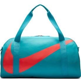 Bolsa Nike Gym Club Ba5567-367 Verde Água
