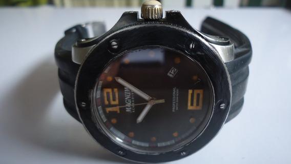 Relógio Magnum Scuba Diver Professional Sapphire Grande